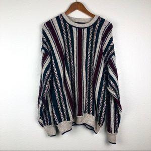 Vintage Jantzen dad crew neck sweater, M